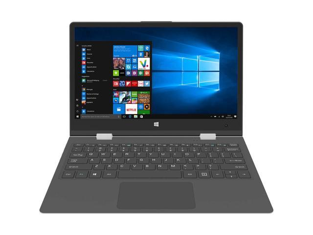 "THOMSON NEO360XS Touchscreen Laptop / Intel® Celeron™/ 4GB RAM-32GB eMMC / 13.3"" FULL HD 1920x1080 IPS Panel / 0.3MP Webcam / Wi-Fi & BT / Battery 7 Hours / Windows 10 / ALU Case / SILVER  / SSD Slot"