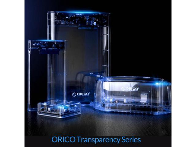 Glass Hard Drive : Orico transparent usb to sata inch quot external