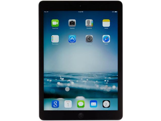Refurbished: Apple iPad Air MD786LL/A (32GB, Wi-Fi, Black with Space Gray)