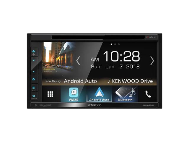"""Kenwood DDX6905S 6.8"""" CD/DVD Touchscreen Receiver w/ Apple CarPlay and Android Auto"""