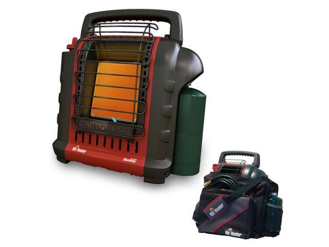 "Mr. Heater Portable ""Buddy"" Indoor-Safe Portable Radiant Heater with Portable Buddy Carry Bag 9BX"
