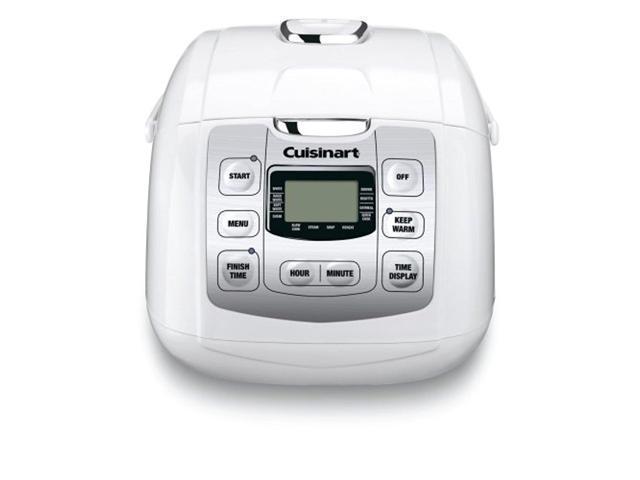 Refurbished: Cuisinart Fuzzy 8-Rice Cooker, White