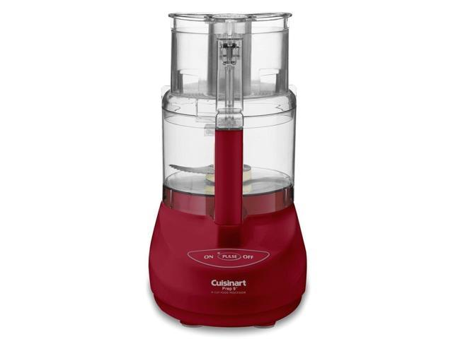 Cuisinart DLC-2009MRY Prep 9 9-Cup Food Processor - Red