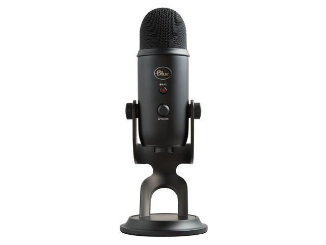 Blue Microphones Yeti 1080 Blackout USB Connector Yeti Blackout + Assassin's Creed Odyssey Bundle