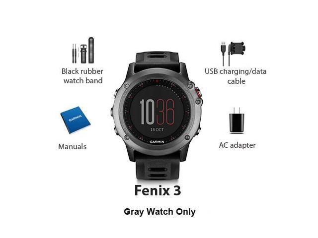 Garmin Fenix 3- Gray