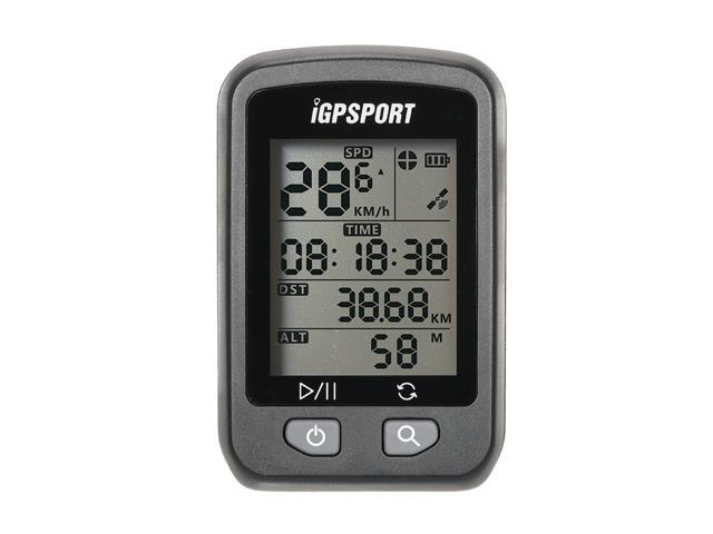 iGPSPORT Rechargeable IPX6 Waterproof Auto Backlight Screen Bike Cycling Cycle Bicycle GPS Computer Odometer with Mount