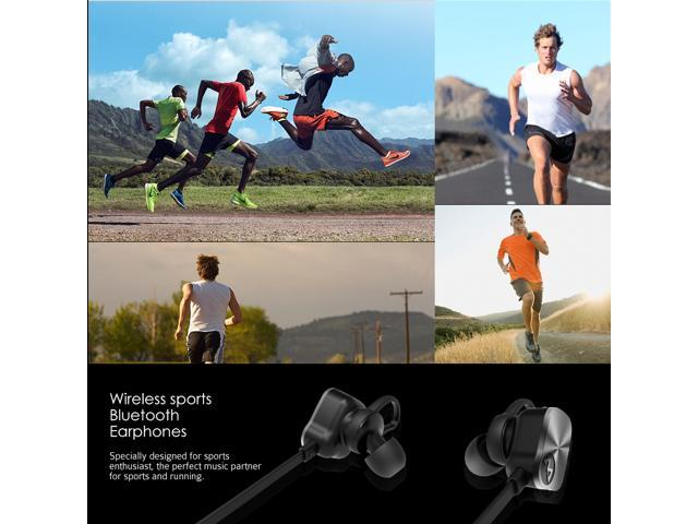 5fbc7635079 Mpow Wolverine Wireless Bluetooth 4.1 Sports Headphones In-ear Running  Jogging Stereo Earbuds Headsets with ...