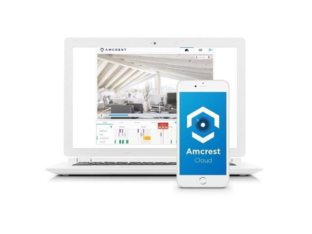 Amcrest ProHD Fixed Outdoor 3-Megapixel (2304 x 1296P) Wi-Fi Vandal Dome IP Security Camera - IP67 Weatherproof, IK10 Vandal-Proof, 3MP (1080P/1296P), IP3M-956B (Black)