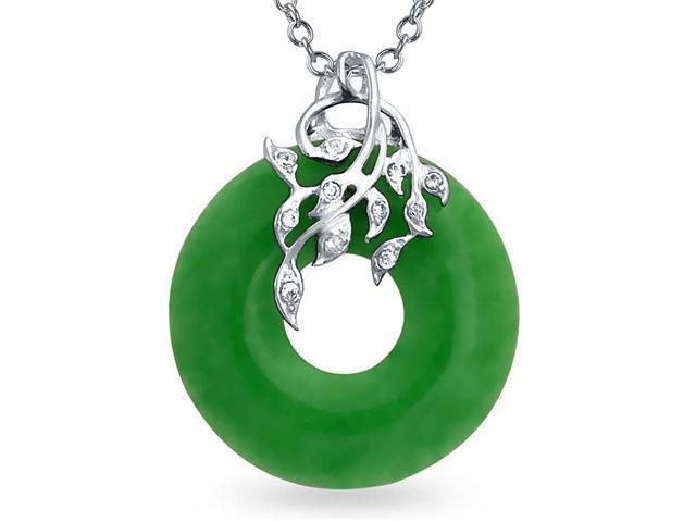 Bling jewelry cz leaves and dyed green jade disc pendant 925 bling jewelry cz leaves and dyed green jade disc pendant 925 sterling silver aloadofball Choice Image