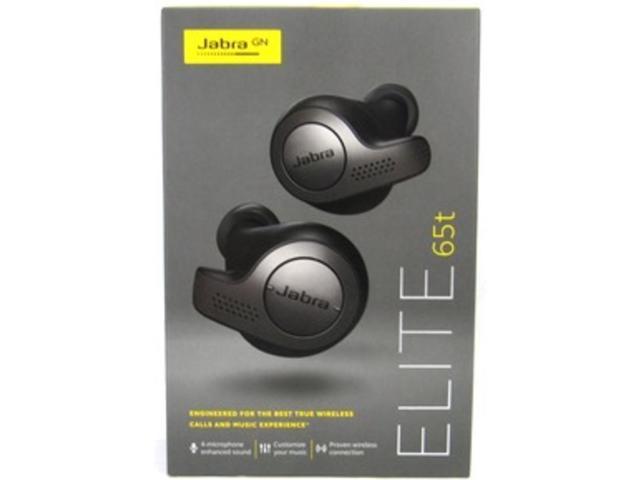 Jabra Elite 65t True Wireless Earbuds Titanium Black