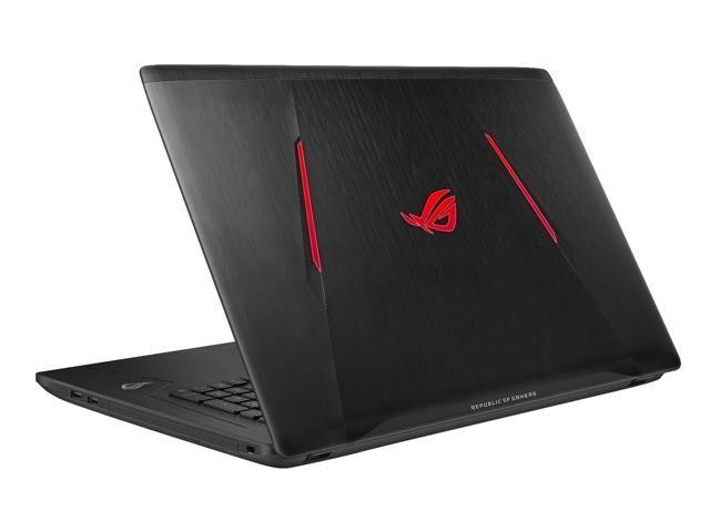 "ASUS ROG Strix GL753VE-RS71 Intel Core i7-7700HQ 8 GB DDR4 1 TB HDD NVIDIA GeForce GTX 1050 Ti 17.3"" Gaming Notebook"