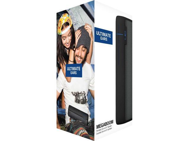 Ultimate Ears MEGABOOM Holiday Edition Waterproof Bluetooth Wireless Speaker - Black