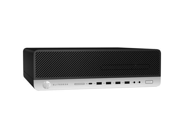 HP EliteDesk 800 G4 4BM68UT#ABA Desktop Computer - Intel Core i7 (8th Gen) i7-8700 3.20 GHz - 8 GB DDR4 SDRAM - 1 TB HDD - Windows 10 Pro 64-bit (English) - Small Form Factor
