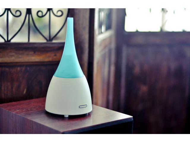 ZAQ Allay Aroma Essential Oil Diffuser LiteMist Ultrasonic Aromatherapy With Ionizer - 80 ML, for Living Room, Spas, Hotel Rooms