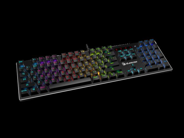 ba8c6816b57 ... Bloody B820 Light Strike LK Optical Mechanical Gaming Keyboard RGB LED  Backlit (LK Red Switch ...