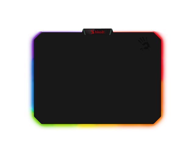 MP-60R - Soft Cloth RGB Gaming Mouse Pad | Medium Size | 10 RGB LED Zones | Detachable Cable