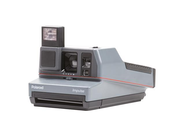Refurbished: The Impossible Project Polaroid 600 Impulse Camera w/ B&W Film