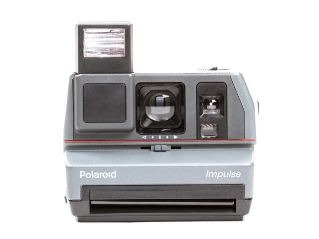 Refurbished: The Impossible Project Polaroid 600 Impulse Camera w/ Film (Silver)