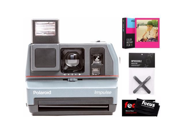 Refurbished: The Impossible Project Polaroid 600 Impulse Camera w/ Film (Hot Pink)