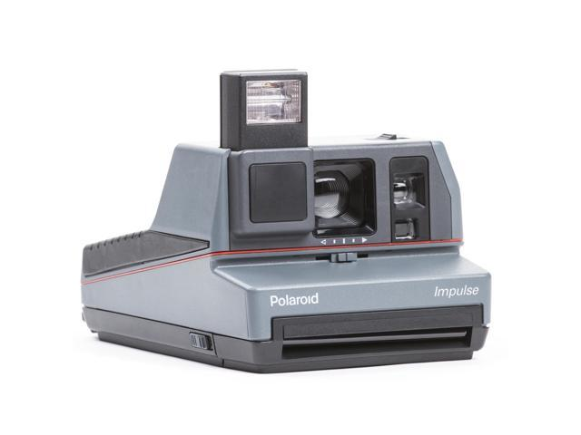 Refurbished: The Impossible Project Polaroid 600 Impulse Camera w/ Duochrome  Film (Orange/)