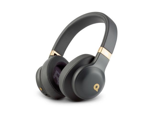 JBL E55BT Quincy Edition Wireless Over-Ear Headphones -Black