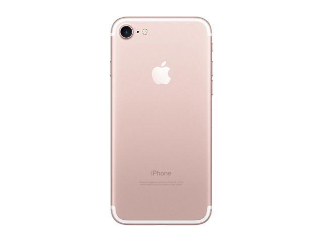 Refurbished: Apple iPhone 7 128GB Rose Gold Unlocked Smartphone