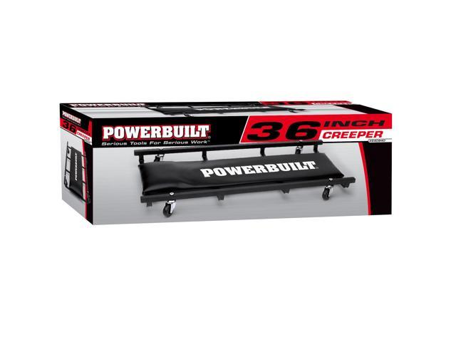 Powerbuilt 36-Inch Floor Creeper, Garage Mechanics Creeper - 640940