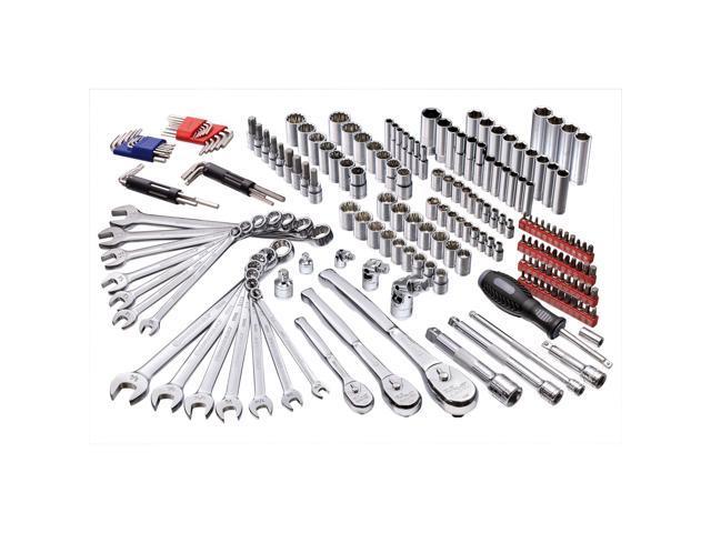 Powerbuilt 200 Piece Master Auto Mechanic's Service Tool Set - 642472