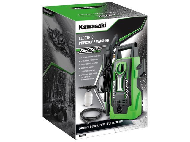 Kawasaki 1650 PSI Outdoor Cleaning Portable Electric Pressure Washer - 842056
