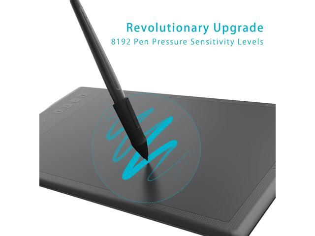 Huion INSPIROY Q11K Wireless Digital Graphics Drawing Pen Painting Tablet with 8192 Levels of Pressure 8 Express Keys and Pen Holder