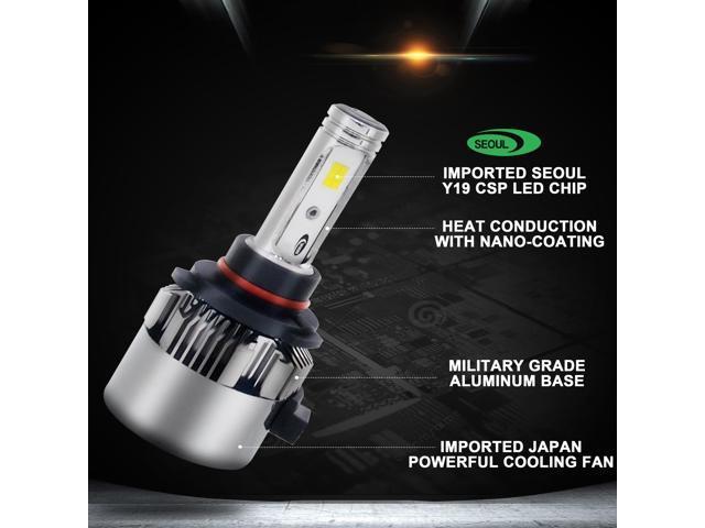 Autolizer T1 LED Headlight Conversion Kit - 9006 (HB4/9012) - Seoul