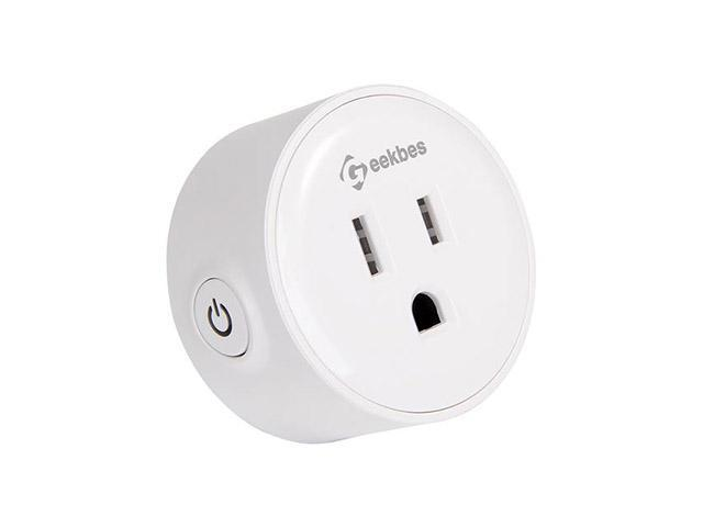 3-Pcs Geekbes YM-WS-1 Smart Socket WiFi Mini Plug Socket