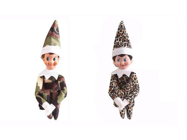 the elf on the shelf cute home decoration elf plush dolls boy girl figure christmas decoration