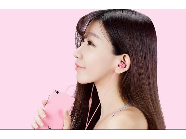 Original Xiaomi Piston Fresh Edition Earphone Wired Control Headphone with Mic - Black