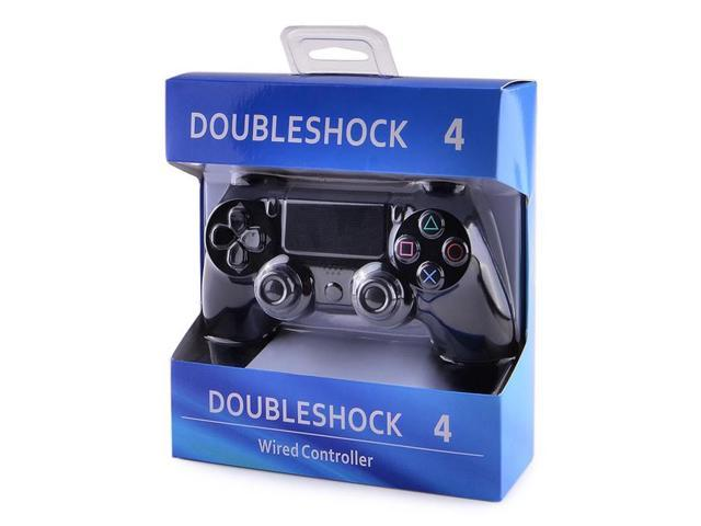 Geekbuying For PS4 USB Wired Gaming Controller With Analog Sticks for PC / Laptop / PlayStation 4 - Black
