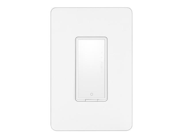Geekbes WiFi Smart Switch Remote control and scheduled on/off works with amazon alexa and google assistant - White