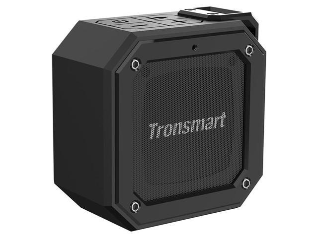 Tronsmart Element Groove Portable Bluetooth Speaker with IPX7 Waterproof, Superior Bass, 24-Hour Playtime - Black