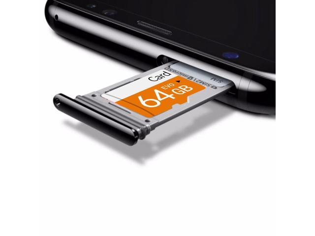 TF9114 Neutral High Speed Class 10 TF Card 64GB C10 USB3.0 Interface Memory Card - Orange