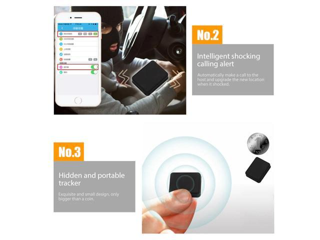 K8 Portable GPS Tracker Vibration Real-time Tracking Locator Strong