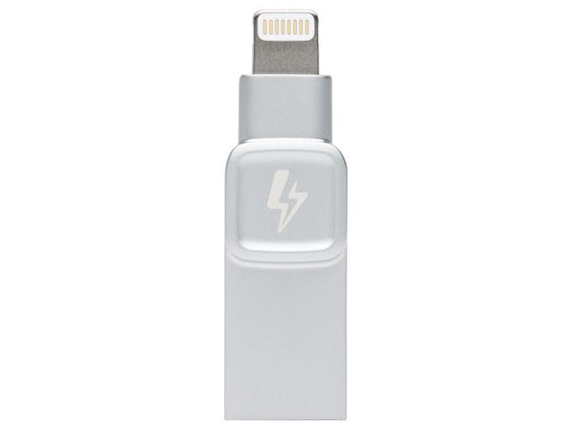 32GB Flash Drive USB3.0 Lightning Dual-interface Memory Stick 120MB/s Read Speed For iPhone iPad - Silver