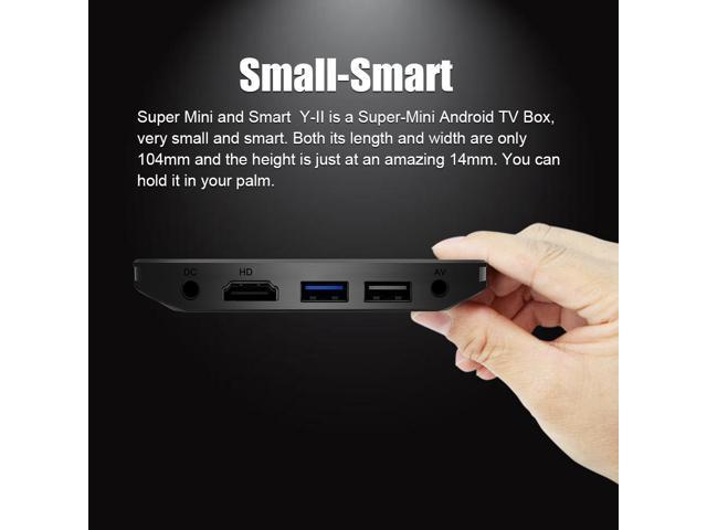 A95X PLUS TV BOX Amlogic S905Y2 4G/32G 2.4G/5G WIFI Bluetooth
