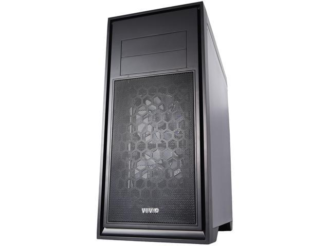 VIVO Titan ATX Mid Tower Computer Enthusiast Gaming PC Case, Window, 5 Fan Mount (CASE-V05)