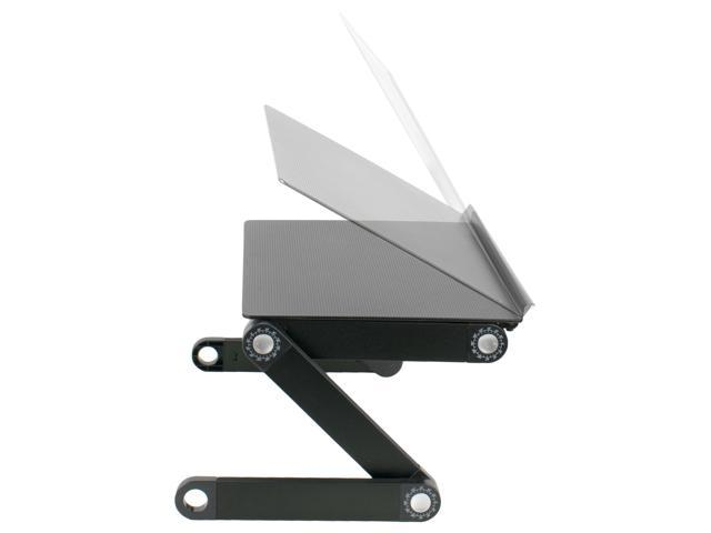 VIVO Height Adjustable Folding Laptop Table Tray Notebook Workstation Stand