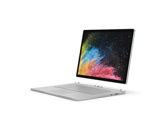 "Microsoft Surface Book 2 FUX-00001 Intel Core i7 8th Gen 8650U (1.90 GHz) 16 GB Memory 512 GB PCIe SSD NVIDIA GeForce GTX 1060 15.0"" Touchscreen 3240 x 2160 Detachable 2-in-1 Laptop Windows 10 Pro Creators Update 64-Bit"
