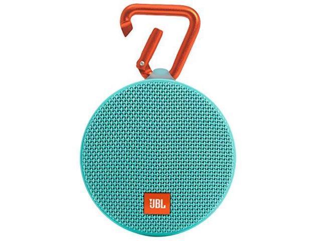JBL Clip 2 Teal Portable Bluetooth Speaker JBLCLIP2TELAM