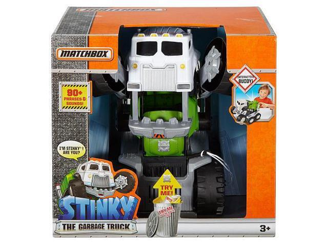 Matchbox Stinky The Garbage Truck