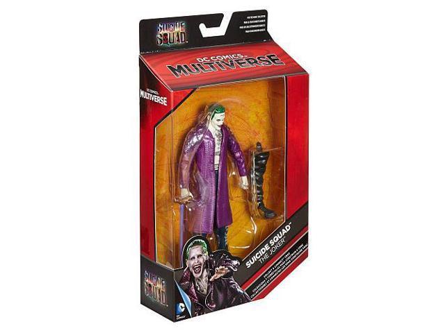 "Mattel DC Comics Multiverse Suicide Squad Figure, Joker, 6"""
