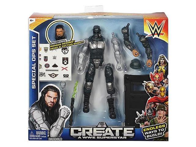 Create a WWE Superstar Roman Reigns Special Forces Pack