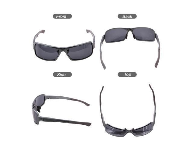 57ab828453c ... Duco Men s Sports Polarized Sunglasses Driver Glasses Unbreakable Frame  UV Protection ...