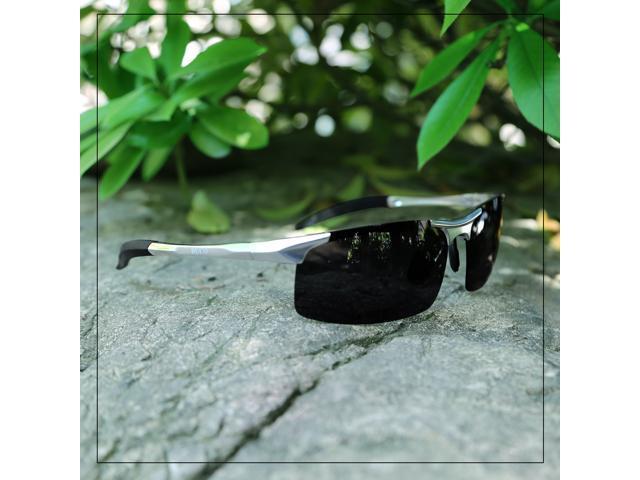 3c9ae27230d Duco Men s Sports Style Polarized Sunglasses Driver Glasses 8177S (Gunmetal  Frame